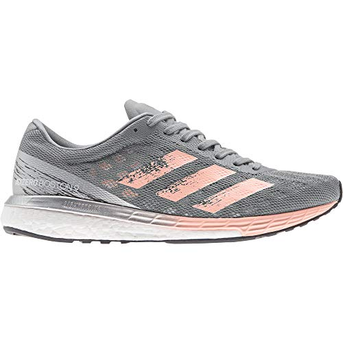 adidas Adizero Boston 9 w, Zapatillas para Mujer, Gritre/NADECL/Plamet