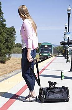 Sherpa Sac de Transport sur roulettes pour Chien Ultimate on Wheels Noir Taille L