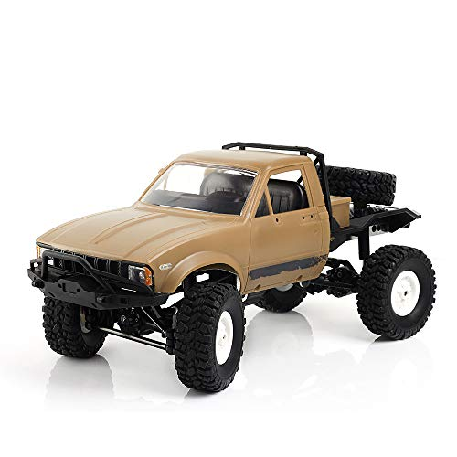 1:16 2.4G RC Car Truck Assembly kit, DIY RC Car Kits Cars Off Road Assemble Kit Vehicle Assembly Set for Kids (No Battery/RC/Receiver)