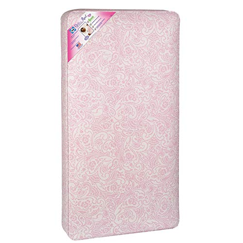 Great Deal! Sealy Ortho Rest 150-Coil Crib Mattress, Pink Paisley