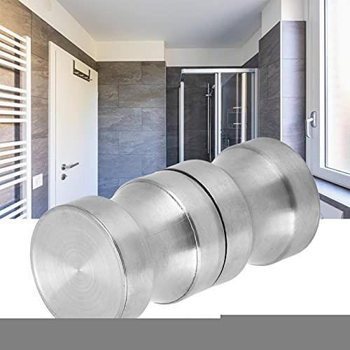Maniglia per porta in vetro, facile da installare, antiruggine e resistente alla corrosione Maniglia per porta, per armadi da cucina, ante da bagno, cassetti, armadietti