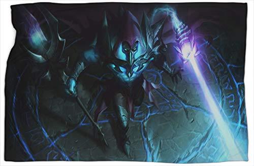 Viktor Deathsworn League Legends - Manta reversible con estampado de leyendas para mejorar el sueño, cálidas y cómodas mantas de 40 x 50 pulgadas