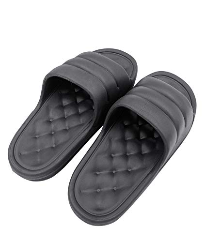 SANQIANG Non Slip Memory Foam Shower Slippers for Men Women's Slippers Indoor & Outdoor Basic House Shoe Quickly Dry Shower Sandals