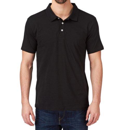 Quiksilver Herren Polo Shirt Belogo, Black, S