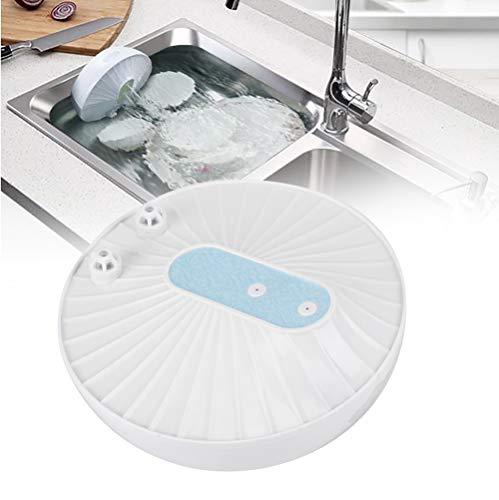Mini-Ultraschall-Geschirrspüler, wiederaufladbare tragbare Multifunktions-Ultraschall-Geschirrspüler Küchenreiniger(Blau)