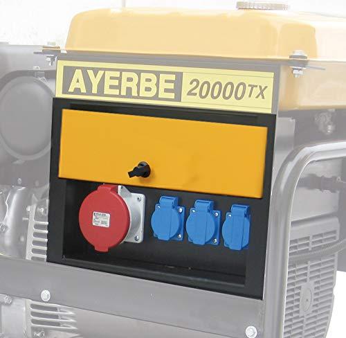Ayerbe - Cuadro obra metalico tx 9-20kva ip55