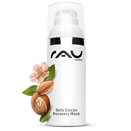 Gesichtsmaske und reichhaltige Nachtcreme, Anti-Aging und Regeneration - RAU Beta Glucan Recovery Mask 50 ml