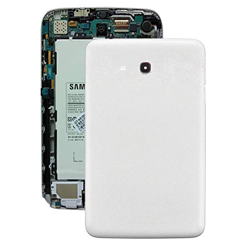 LUOKANGFAN LLKKFF Spare Parts Smartphone Battery Back Cover for Galaxy Tab 3 V T116 (White) Replacement Parts (Color : White)