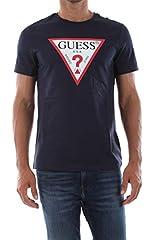 Guess Camiseta Manga Corta CN SS Core Original Logo para Hombre