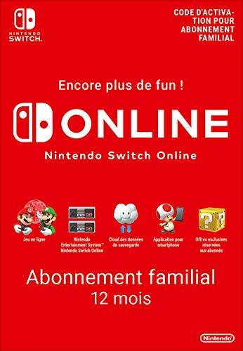 Nintendo Switch Online - Abonnement 12 Mois Famille | Code de téléchargement (Switch)
