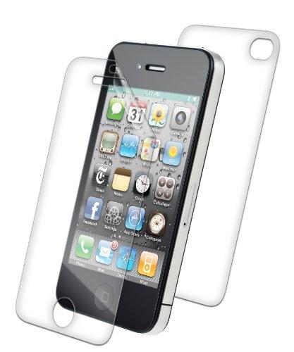 ZAGG invisibleSHIELD® ORIGINAL Schutzfolie für Apple iPhone 4/4S - Full Body (Bildschirm & Rückseite)