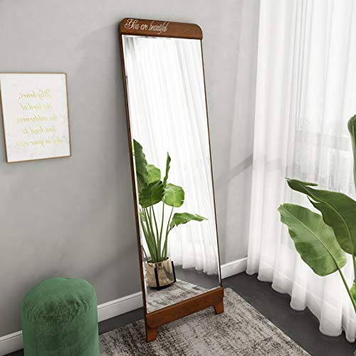Best wood floor length mirror