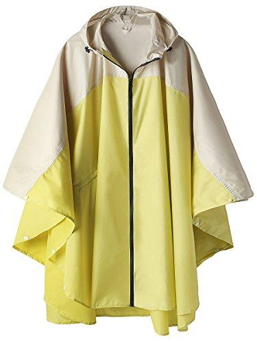 Stylish Unisex Hooded Waterproof Raincoat with...