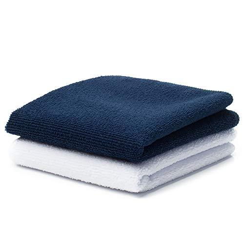 Towel City - Serviette invité en Microfibre (30 cm x 50 cm) (Bleu Marine)