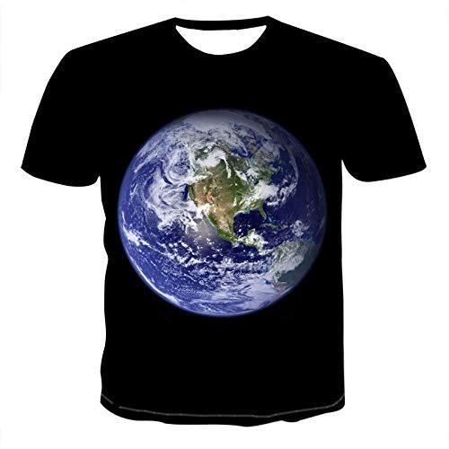 Unisex 3D Printed Summer Casual Short Sleeve T Shirts Tees Short-Sleeve...