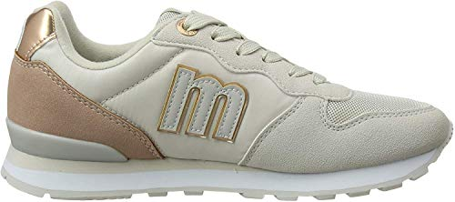 MTNG Attitude 69705, Zapatillas para Mujer, Gris (Ecosu/Lony Gris Claro C47270), 38 EU
