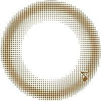 アレグロ(Allegro)2Week【2週間カラコン】【1箱4枚入り/DIA14.0mm/BC8.6】 (-0.50, ワルツモカ)