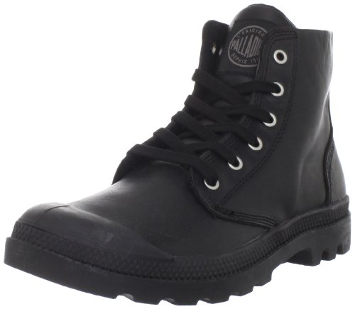 Hot Sale Palladium Men's Pampa Hi Leather Boot,Black,10 M US