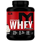 MTS Machine Whey Protein (5lbs, Cookies & Cream)