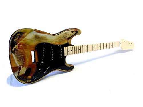 E-Gitarren-Bausatz/Guitar DIY Kit ML-Factory® E-Gitarren-Bausatz/Guitar Kit Style I aged Sunburst M