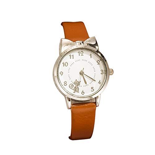 Relojes Para Mujer Relojes para mujer Femenina Moda casual Ladies Pulsera Estudiante Reloj de pulsera Reloj Femenino Reloj de regalo Vestido de reloj Relojes Decorativos Casuales Para Niñas Damas