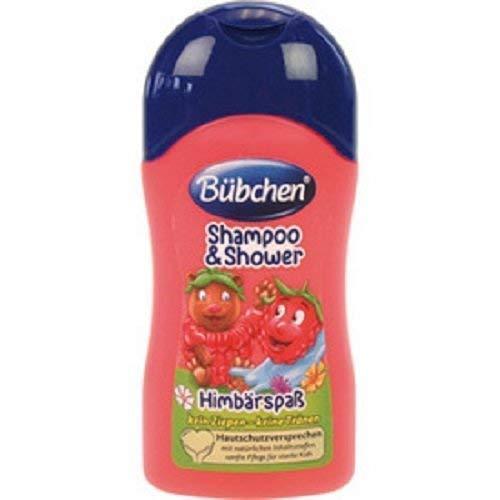 Bübchen Shampoo & Duschgel 50ml Himbärspaß, 5er Pack 5 x 50 ml
