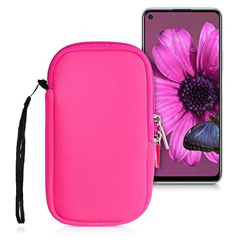 kwmobile Handytasche für Smartphones S - 4,5