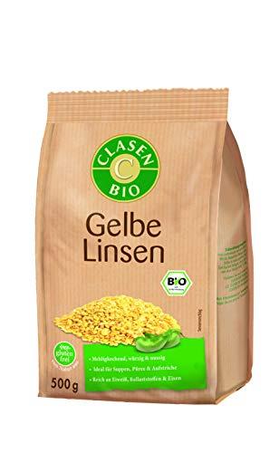 CLASEN BIO Gelbe Linsen - 500g