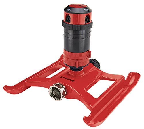 Dramm 15091 4Pattern Gear Sprinkler, Red