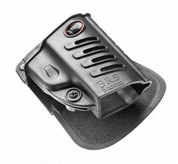 Fobus Conceal Concealed Carry Left Hand Paddle Holster fits Beretta PX4 Storm Full Size & Compact/Taurus PT 845, 24/7, PT940, PT840, PT640, PT100, PT800, PT809 Baikal MP-446 FNH FNP9, FNH FNS9.