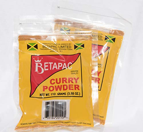Betapac Curry Powder 388 Oz  Pack of 2