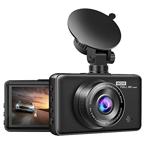 Dash Cam 1080P FHD【2020 Newest Version】 Innosinpo Dash Camera for Cars 3 Inch Dashboard Camera Recorder with IR Night Vision,170° Wide Angle, G-Sensor, WDR, Loop Recording, Parking Monitor