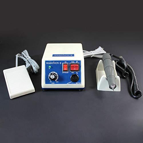 Micromotor eléctrico de laboratorio, 0-35,000 rpm, unidad de pulido de 35 K,...