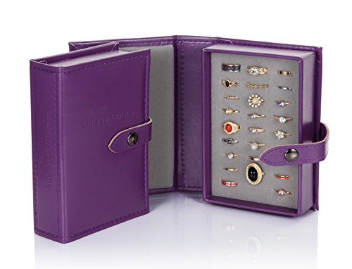 Little Little Book Of Rings Storage - Small Purple