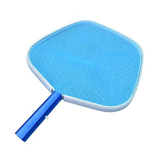 W/B Pool Skimmer Net,Swimming Pool Cleaner Supplies Trampoline Waterpark Sprinkler Best Outdoor Summer Toys for Kids Outside,Cleaning Swimming Pools(Blue) (Blue)
