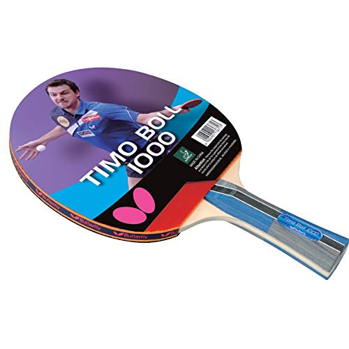 Butterfly Timo Boll Table Tennis Racket - 1 Ping Pong Paddle – 2 Ping Pong...