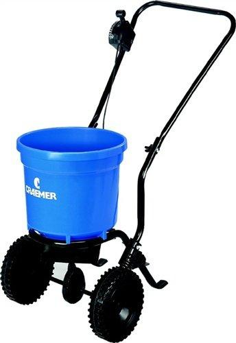 Streugutwagen PE-Behälter blau, Kunststoffräder , Herstellerbestellnummer: 9000491256
