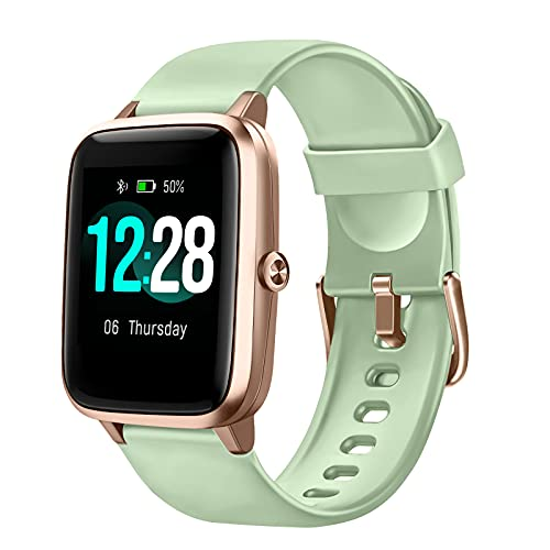 LETSCOM Smart Watch Fitness Tracker Heart Rate Monitor Step Calorie...