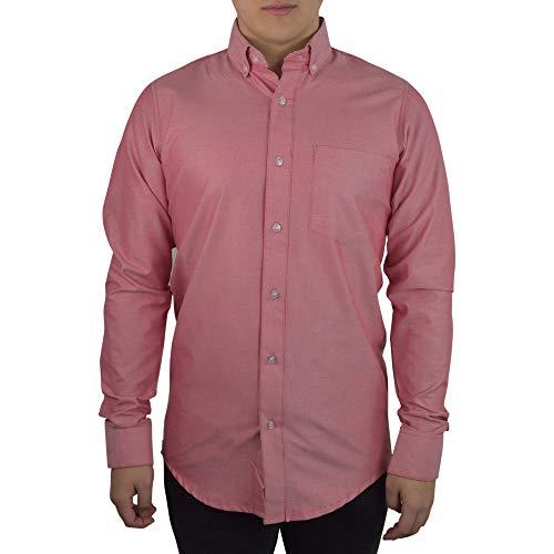 STANLIT Camisa de Vestir en Manga Larga Tipo Oxford,Camisa Manga Larga, para Vestir, Camisa de Vestir,…