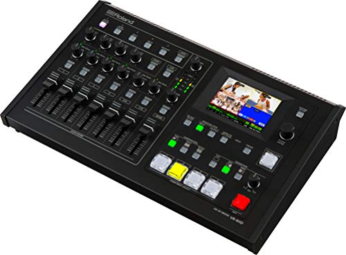 Roland All-in-One VR-4HD 4 Channel AV Mixer with USB Stream/Record