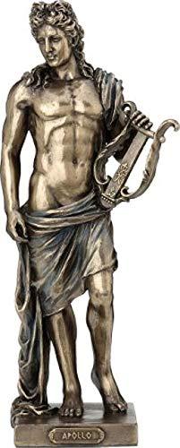 Griechischer Gott der Musik Apollo (Dekorative Bronzestatue, Figur 25cm)