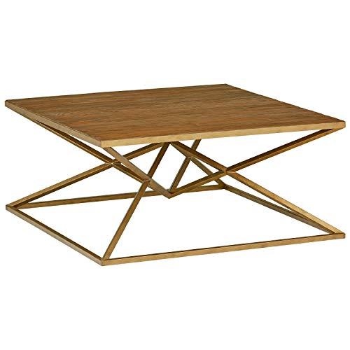 Amazon Brand  Rivet Modern Pine-Topped Coffee Table, 39.37