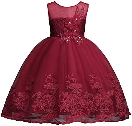 Toddler Girl Christmas Dress 18 24 Month Knee Length Sequin Special Occasion Dress for Baby product image