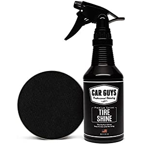 Tire Shine Spray by Car Guys Auto Detailing Supplies