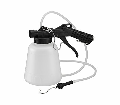 ARES 70923-1-Liter Vacuum Brake Fluid Bleeder - Hanging Hook and Locking Trigger Allows for Hands...