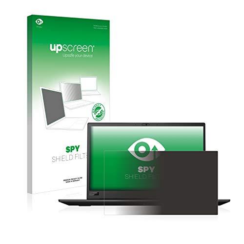 upscreen Blickschutzfilter kompatibel mit Lenovo ThinkPad P1 Non-Touch (1. Generation) Privacy Filter - Anti-Spy Blickschutzfolie Sichtschutz-Folie