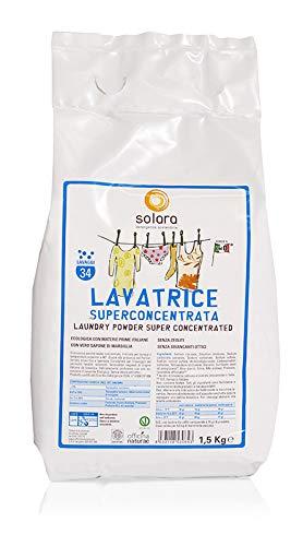Solara Officina Naturae Polvere Lavatrice Ecologica Biologica sostenibile superconcentrata con ingredienti a km 0