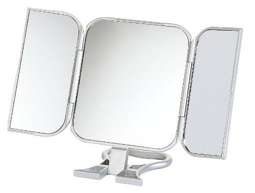 23x 12cm, plegable espejo de viaje imagen de verdad