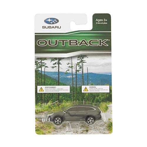 Subaru Official Genuine Outback 1/64 Die Cast Toy Car Diecast New 1:64 New Gray