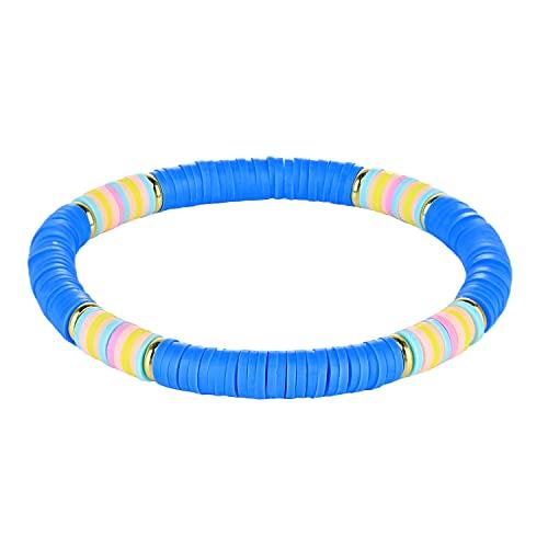 KANYEE Bracelets Rang De Perles Boho Bracelets Extensibles Faits À La Main Bracelets D'Amitié Vives